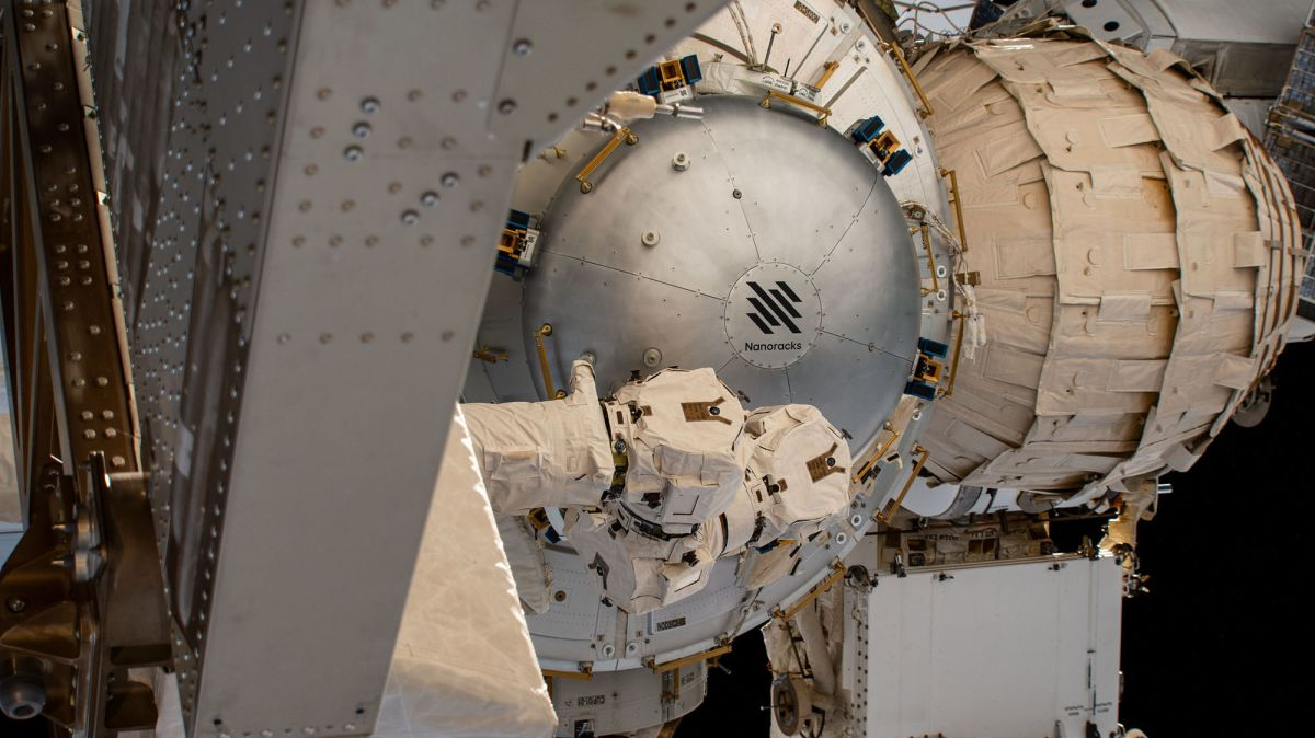 The International Space Station is now home to the world's first commercial air chamber
