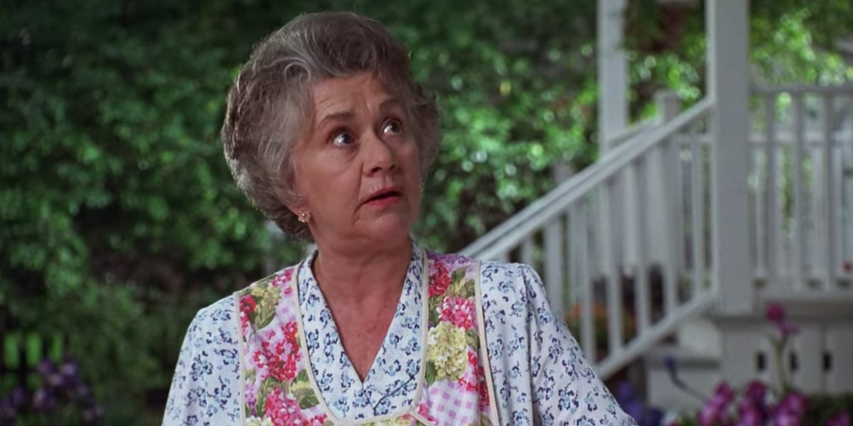 Joan Plowright in Dennis The Menace