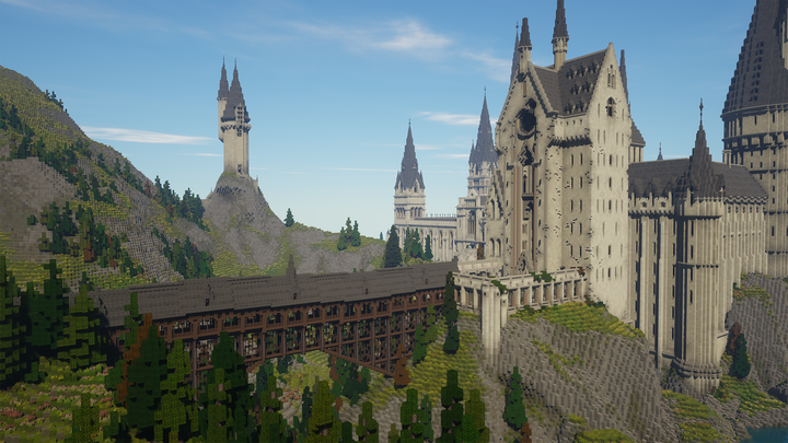 Witchcraft and Wizardry, the Minecraft Harry Potter RPG, is complete