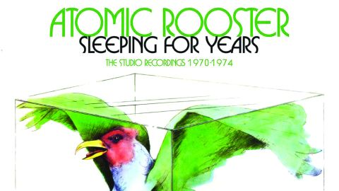Cover art for Atomic Rooster - Sleeping For Years: The Studio Recordings '70-'74