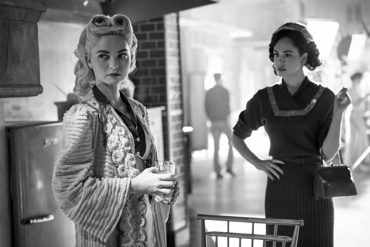 Legacies Season 2, Episode 14 The CW Lizzie and Josie film noir episode