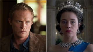 Paul Bettany and Claire Foy