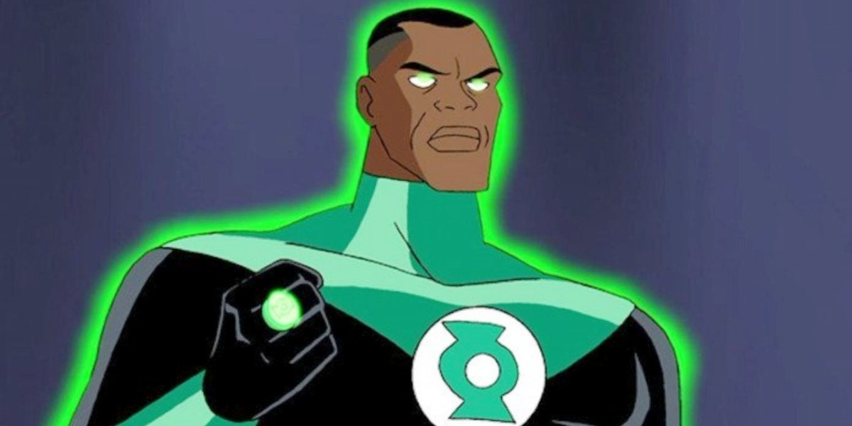 The Green Lantern in Justice League