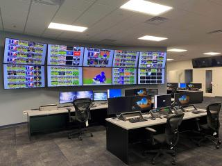 The core infrastructure of the operations center relies on Imagine Communications solutions