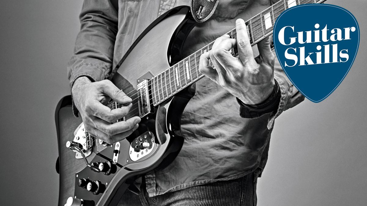 Guitar lesson: learn to play chords across the fretboard – quickly and easily