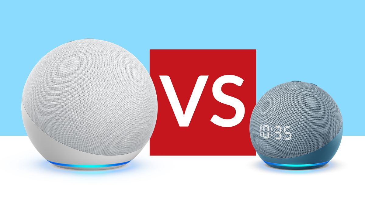 Amazon Echo (4th gen) vs Echo Dot (4th gen): which new Alexa speaker is best for you?