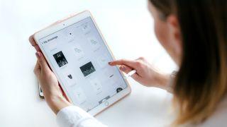 What is cloud storage ipad drawings