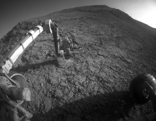 Mars Rover Opportunity at Target 'Potts'