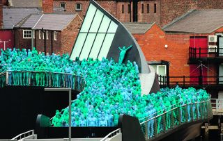Last year, Spencer Tunick put Hull on the cultural map with his mass nude photograph, Sea of Hull.