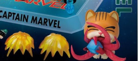 Cute Goose (and Captain Marvel) Figure Set Coming in 2020
