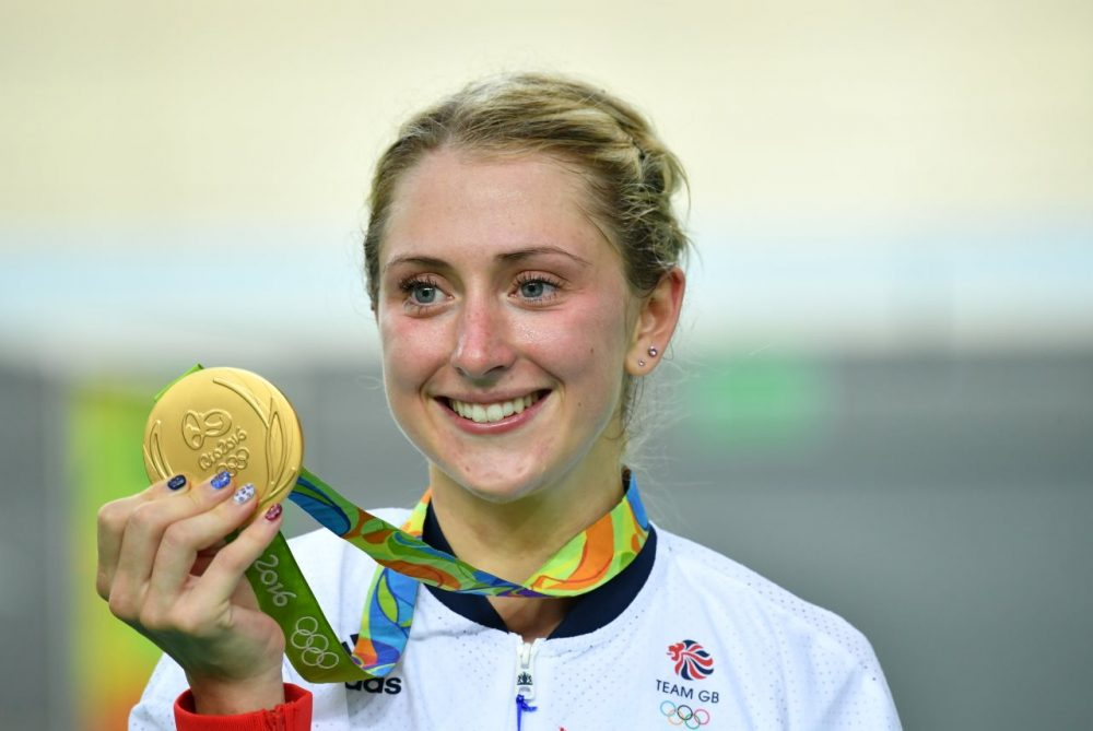 Laura Kenny at the Rio Olympics. Photo: Graham Watson