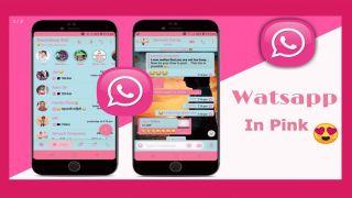 WhatsApp pink scam