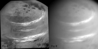 Cassini Spots Clouds in Titan's Skies