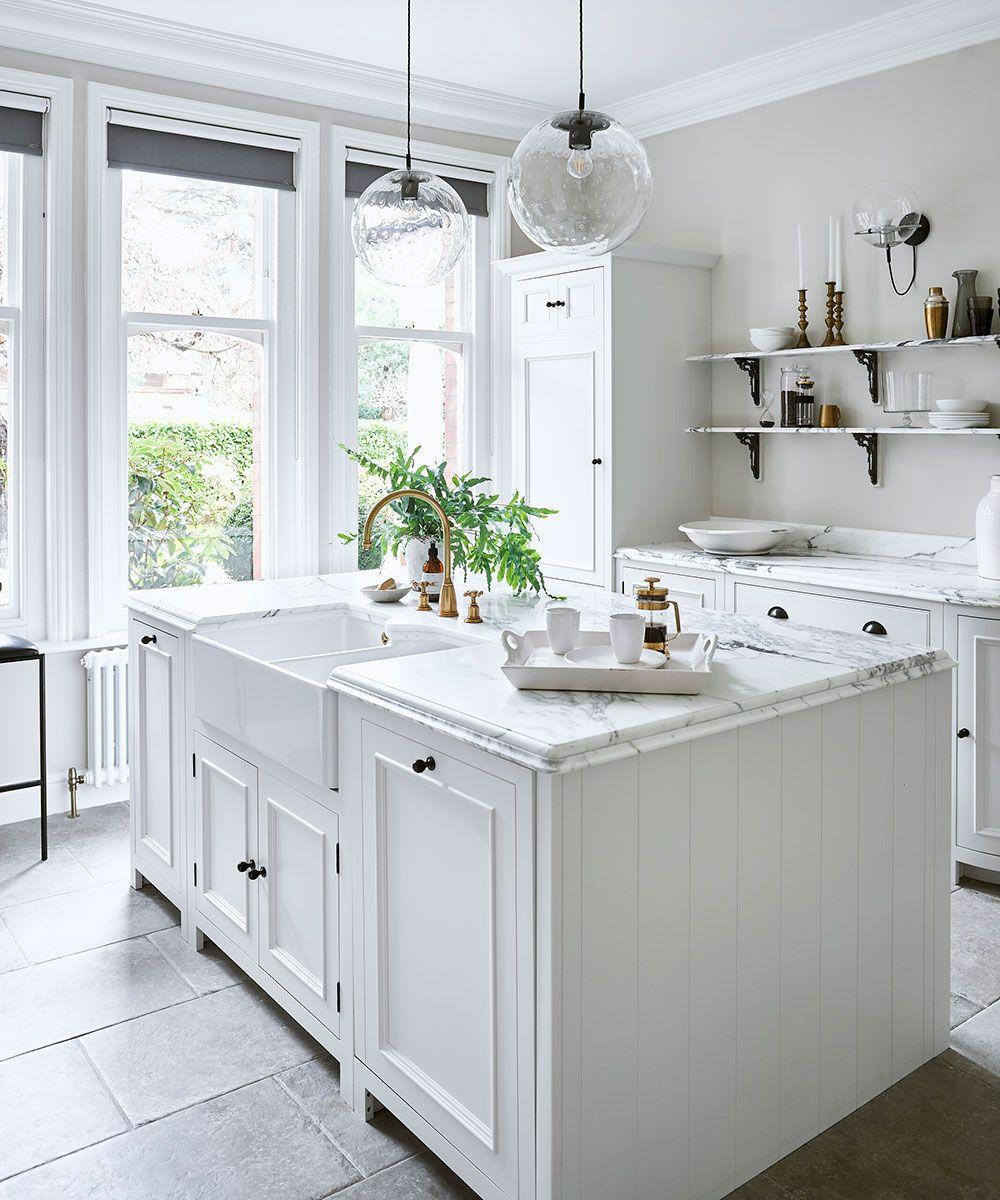 20 White Kitchen Ideas Decorating Ideas For White Kitchens Homes Gardens