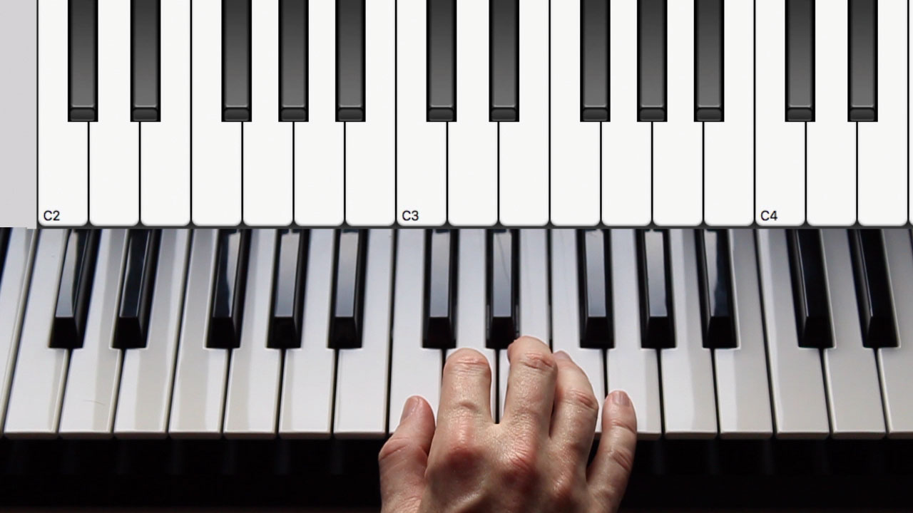How to develop finger independence on a keyboard