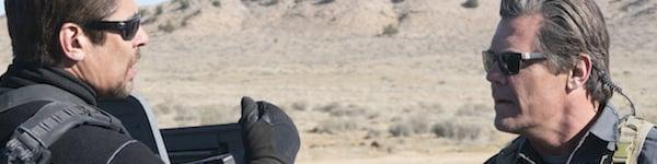 Benicio Del Toro and Josh Brolin in Sicario: Day Of The Soldado
