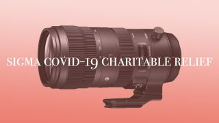 Sigma will donate 5% of its lens sales to COVID-19 charities