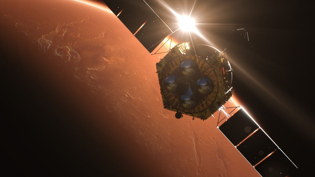 China's Tianwen-1 Mars mission adjusts orbit to prepare for a Red Planet landing