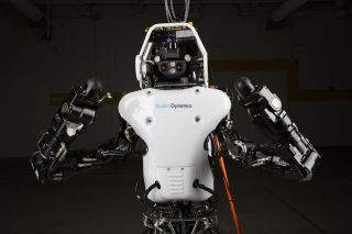 The DARPA Atlas robot.