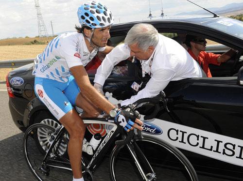 Ezequiel Mosquera, Vuelta a Espana 2009, stage 17