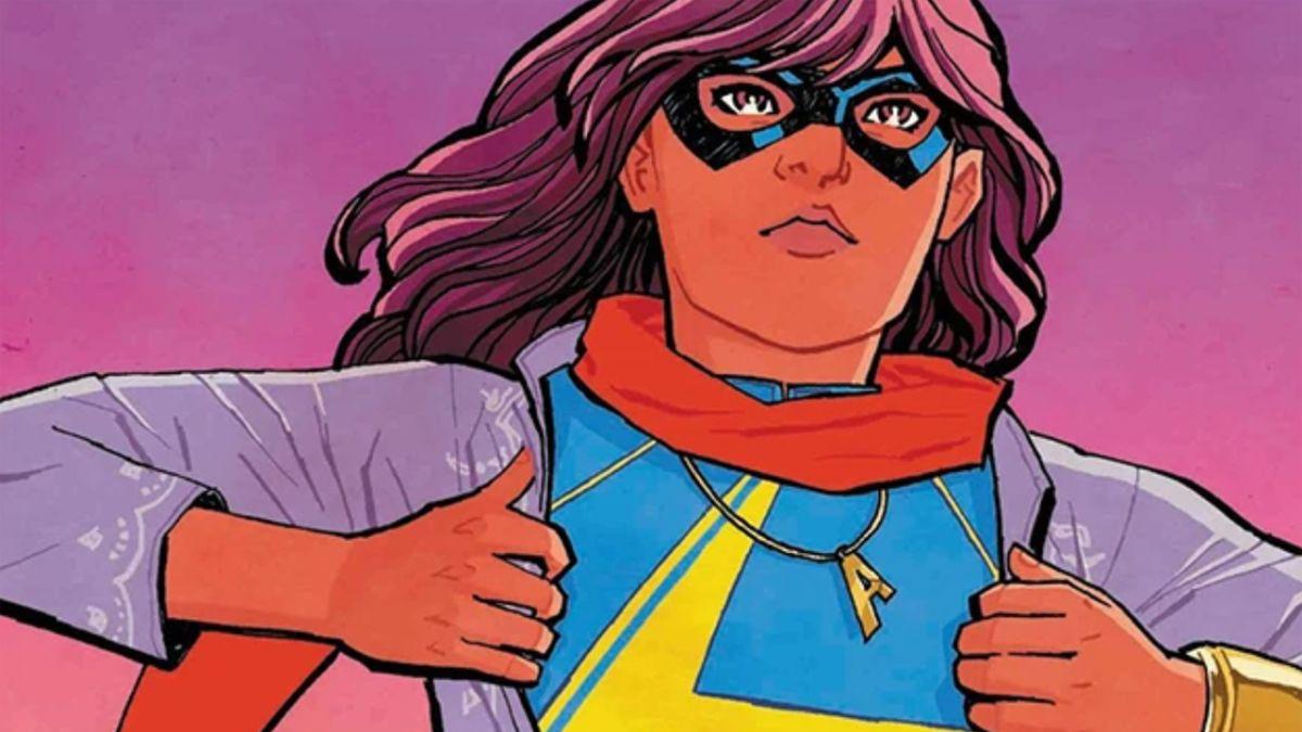 Ms. Marvel set photos show off Kamala Khan using her powers