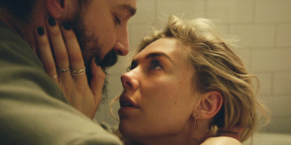 Shia LaBeouf and Vanessa Kirby in Pieces of a Woman