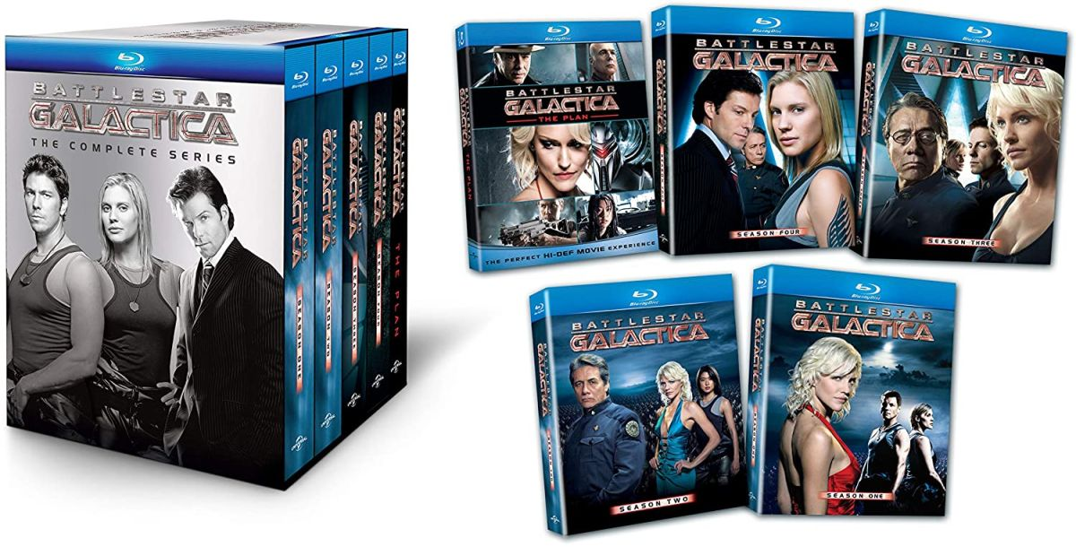 Battlestar Galactica: The Complete Series is over 50% off for Prime Day!