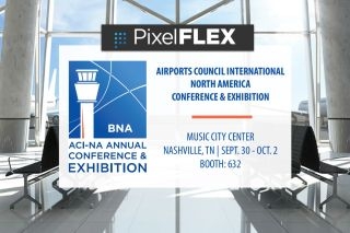 PixelFLEX to Showcase LED Airport Technologies at ACI-NA Conference