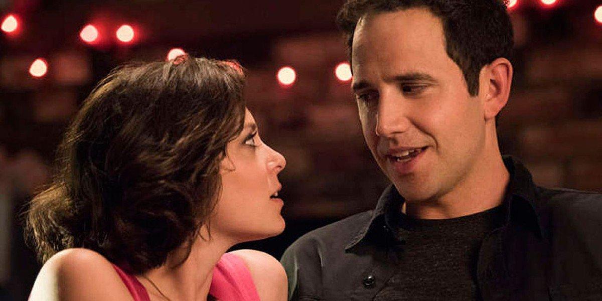 Rachel Bloom and Santino Fontana in Crazy Ex-Girlfriend
