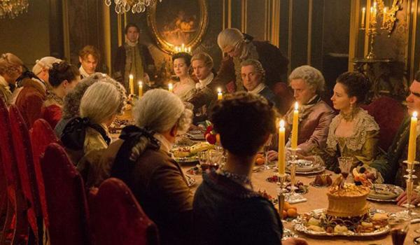 dinner party outlander paris season 2