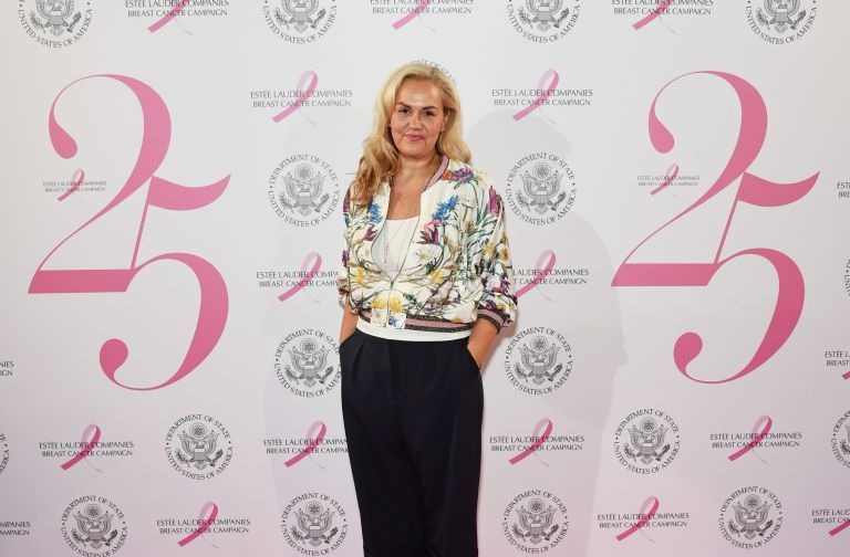 LONDON, ENGLAND - OCTOBER 09: Caroline Hirons attends the 25th Anniversary of the Estee Lauder Companies UK's Breast Cancer Campaign at the US Ambassadors Residence, Winfield House, Regents Park on October 9, 2017 in London, England. (Photo by David M. Benett/Dave Benett/Getty Images for Estee Lauder Companies)