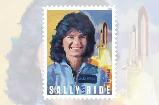 sally ride 2018 usps stamp
