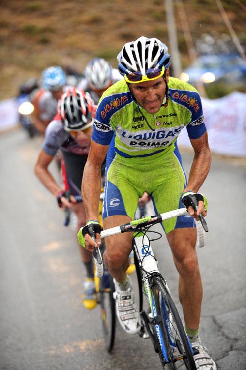 Ivan Basso attack, Vuelta a Espana 2009, stage 14
