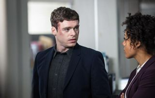 Richard Madden as troubled security officer David Budd