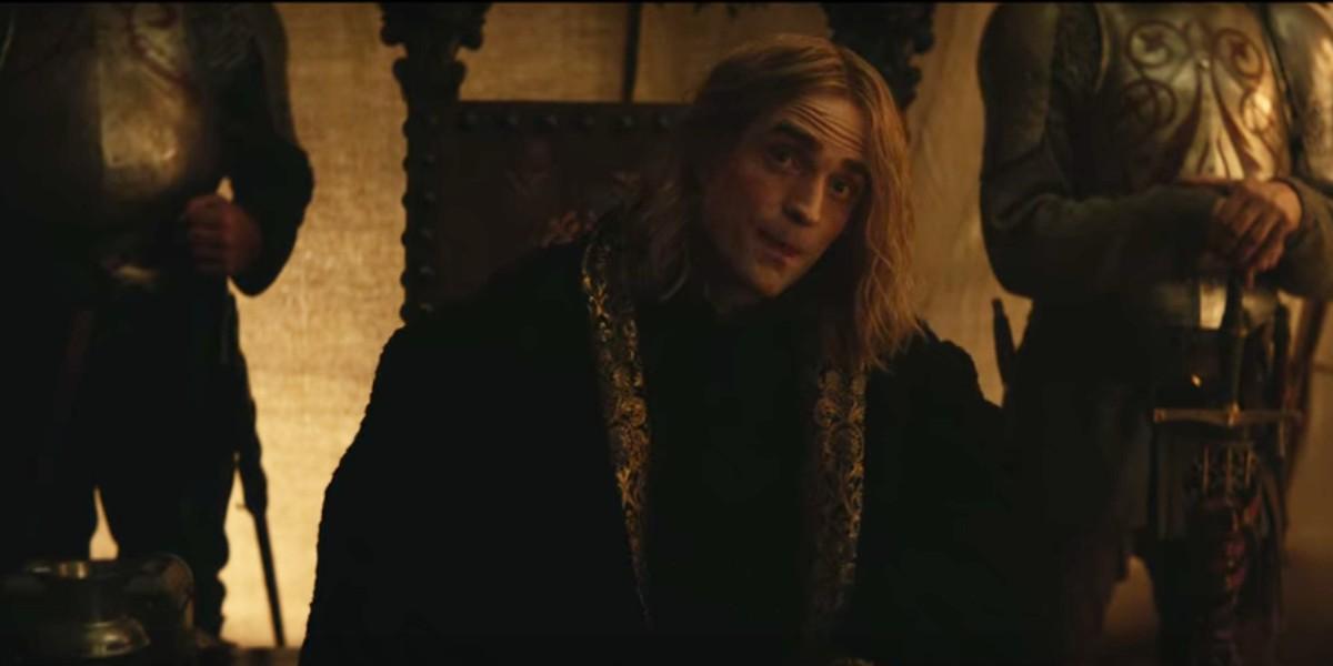 Robert Pattinson in The King