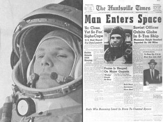 Yuri Gagarin in Space