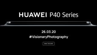 Huawei P40 launch teaser