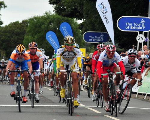 Edvald Boasson Hagen, Tour of Britain 2009, stage three