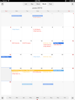 From the Principal's Office: Excellent Google Calendar App for the iPad
