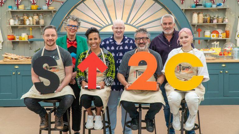 Great Celebrity Bake Off 2021 contestants