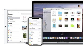 iCloud across iPhone, iPad and Macbook Pro
