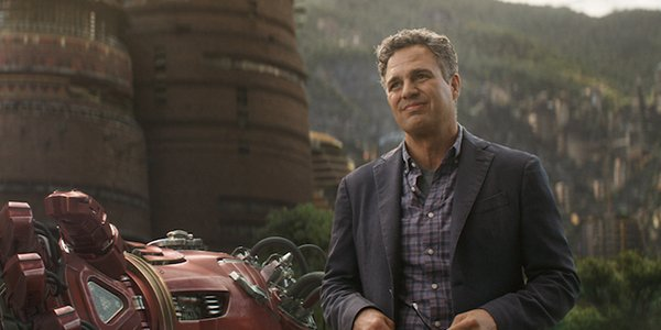 Mark Ruffalo's Bruce Banner in Avengers: Infinity War