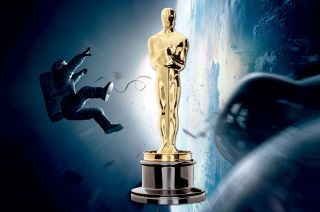 """Gravity"" pulled in seven Oscars, including best director, at the 86th Academy Awards on March 2, 2014."