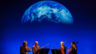 Kronos Quartet Explores Sounds from Space with Terry Riley's 'Sun Rings'