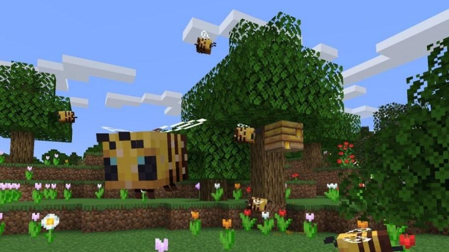 minecraft update 1.15 buzzy bees