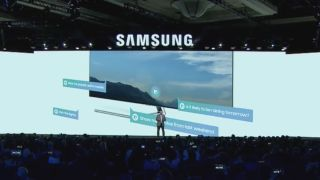 Samsung's 2018 TVs get voice assistant integration     with