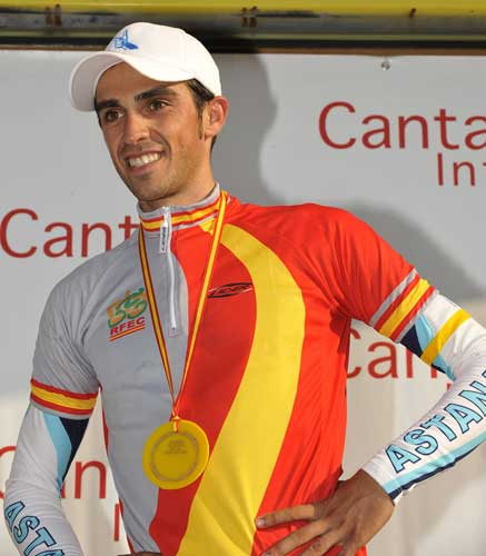 Alberto Contador, Spain time trial national championships 2009