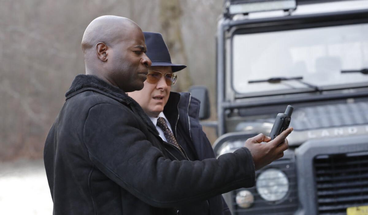 The Blacklist Hisham Tawfiq Dembe Zuma James Spader Raymond Red Reddington NBC