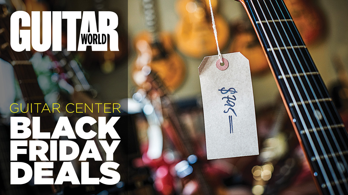 Guitar Center Black Friday 2020 The Latest And Best Guitar Center Deals Too Epic To Miss Guitar World