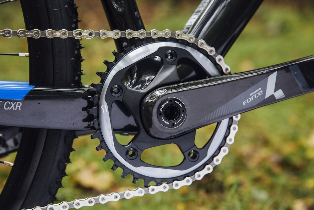 Thumbnail Credit (cyclingweekly.com): The system is made up of three parts, SRAM's X-Sync single ring, chain and the clutched rear mech.